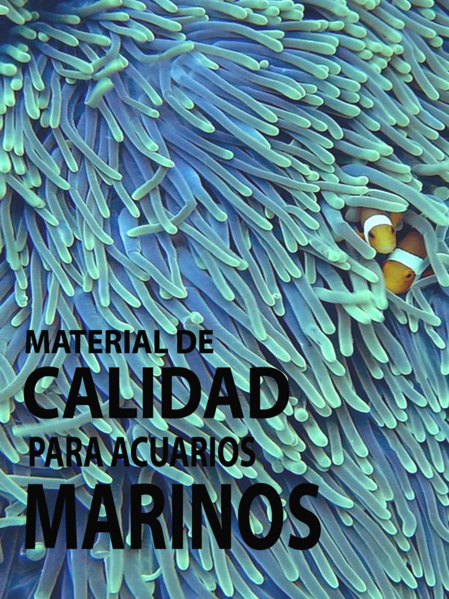 Material acuarios marinos